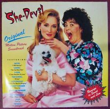 She-Devil, la diable 33 tours Meryl Streep Roseanne Barr 1989