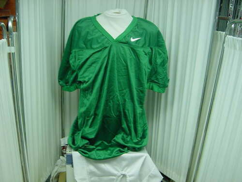 Authentic Brand New Nike Game/Practice Kelly Green Football Jersey Size Large