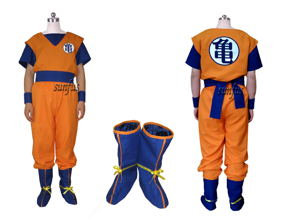 Dragon Ball Z Son Goku Kai Vegeta Saiyans Cosplay costume Anime Full Set