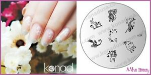 Konad-Stamp-Nail-Art-Decal-Image-Plate-M34-MAGIC-ZODIAC