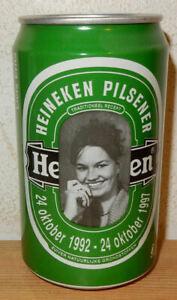 HEINEKEN GIRL ERNA 1987 Limited Edition Beer can from NETHERLANDS (33cl) Empty !