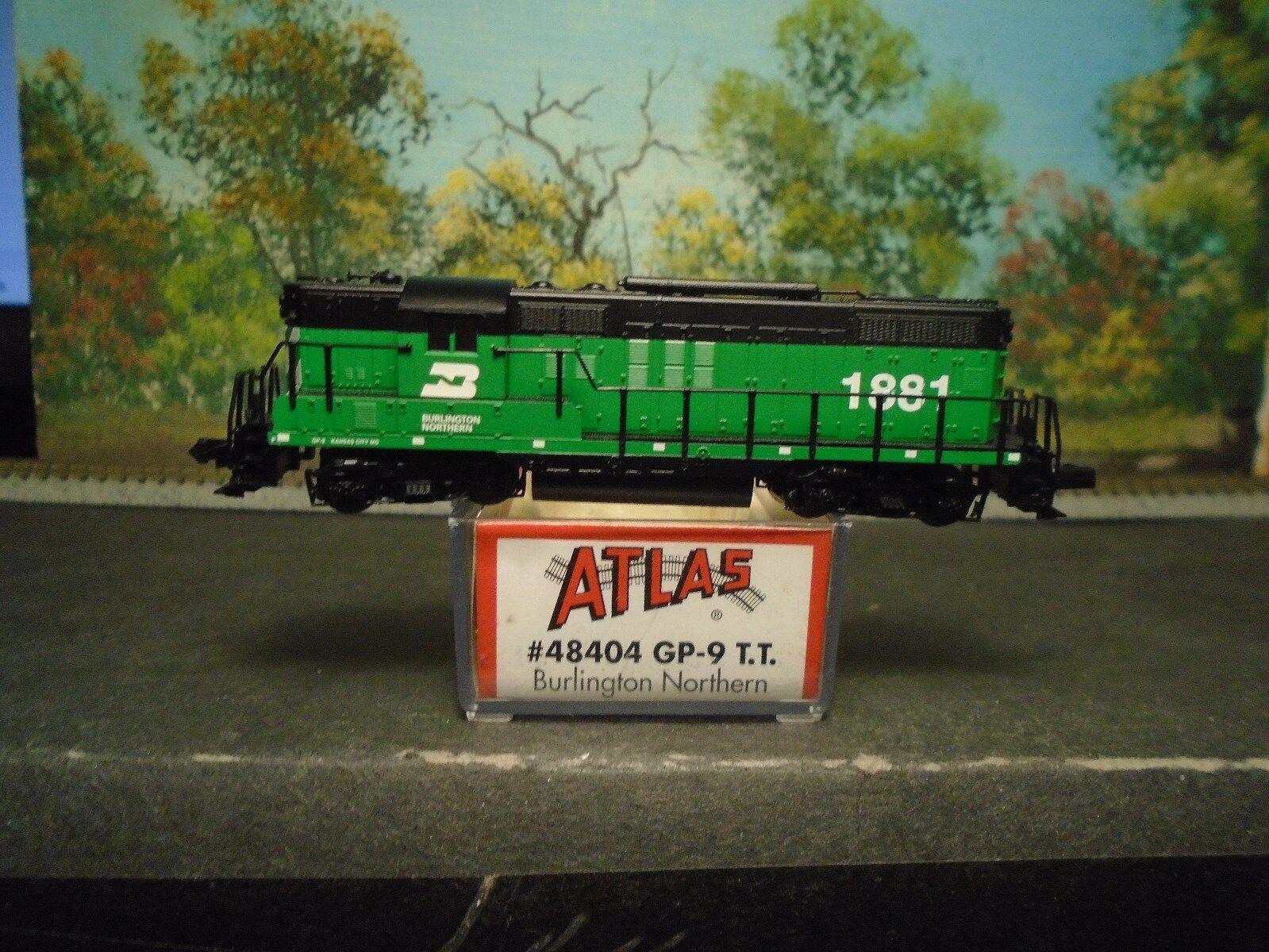 Atlas N Scale GP-9 T. T. Burlington Northern