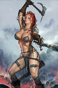 RED SONYA VALENTINES DAY SPECIAL #1 VIRGIN VARIANT! ONLY 500 PRODUCED!PRESELL