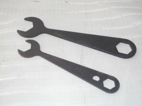 Lot of 2 Valenite E-Z Set Boring Open End Box Wrench EZW-2C /& EZW-3C