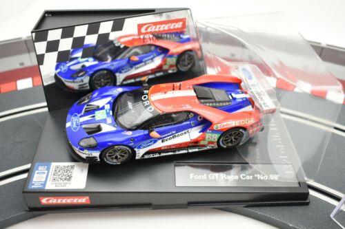 """20027533 EVOLUTION//CARRERA 1//32 SLOT CAR FORD GT RACE CAR /"""" NO 68/"""""""