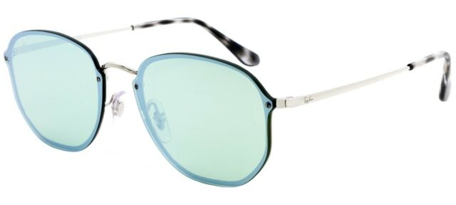 2257f2daf Ray Ban RB 3579N 003/30 58mm Silver Green Mirror Blaze Sunglasses New  Authentic