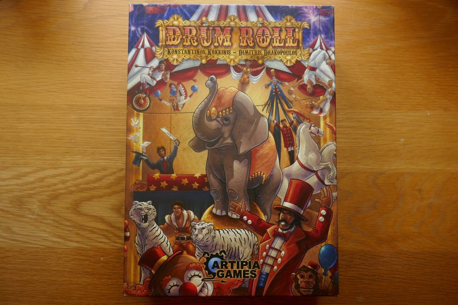 Drum Roll board board board game + Expansions dac62a