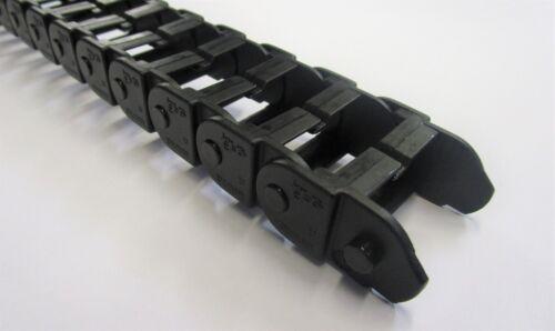 BZT 57 mm cadena energética abiertamente negro 1-9 metros schleppkette accesorios del PROFI