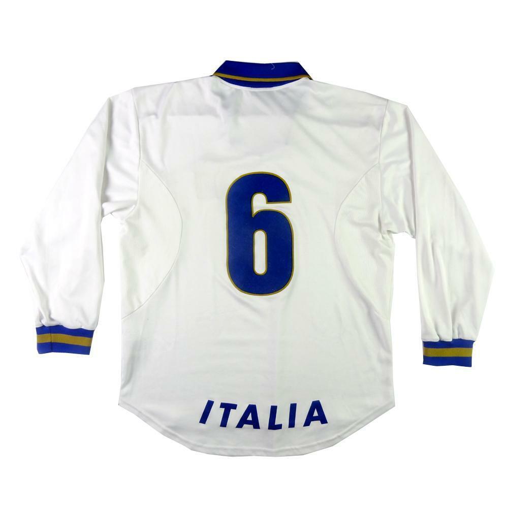 1996 Italia Maglia Away  6 autoboni Player Issue XL Top  SHIRT MAILLOT TRIKOT