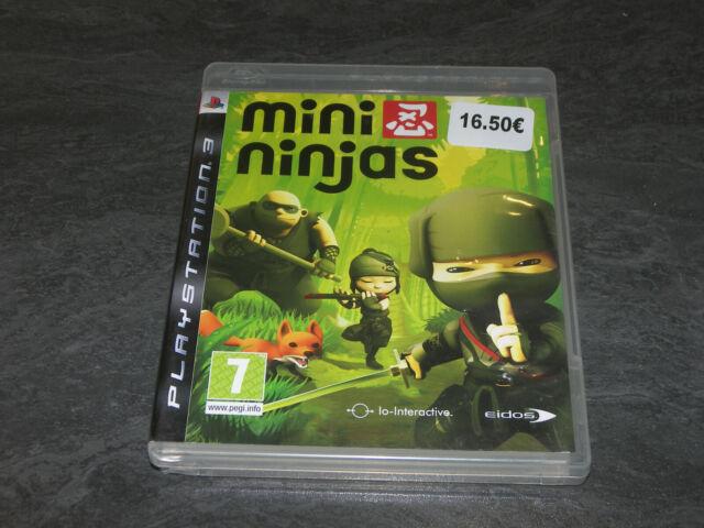 JEU PS3 MINI NINJAS COMPLET EIDOS OCCASION FR