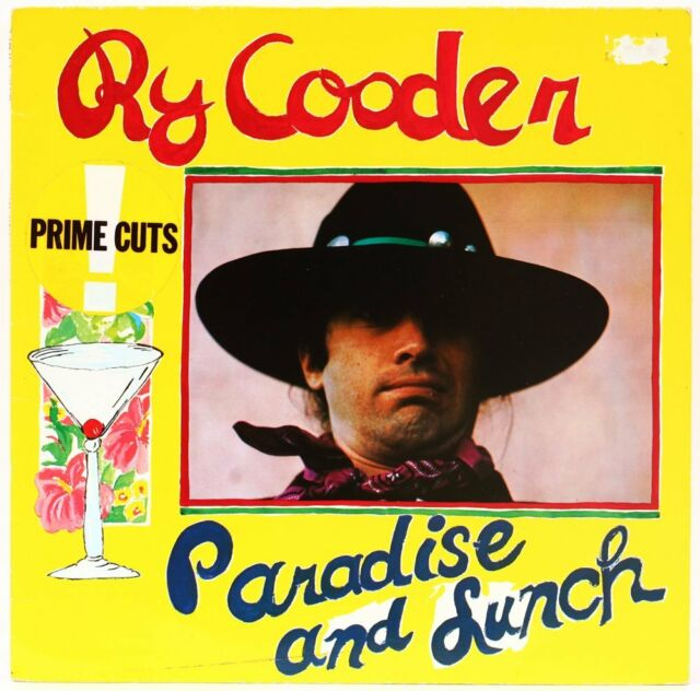 Paradise and Lunch   Ry Cooder Vinyl Record