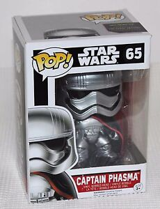 Captain Phasma Movie Character FigureFUNKO FU6226 Star Wars Episode 7 Pop