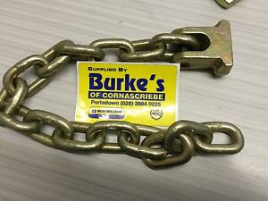 "Howard + other muck spreader  3/8"" x 15 link standard chain & head"