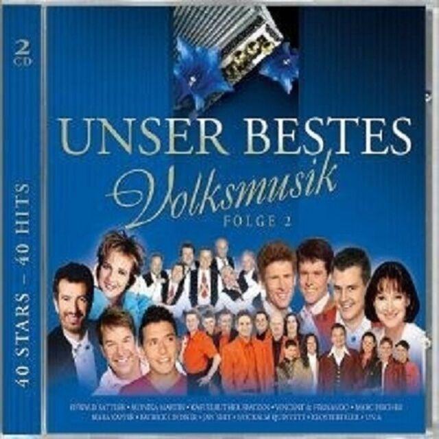 UNSER BESTES...VOLKSMUSIK - FOLGE 2 2 CD NEU