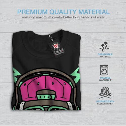 New Street Sweatshirt Rap Music Frauen Cool Black Dog 5PYBWqn