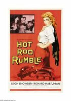 Hot Rod Rumble Movie Poster 24x36
