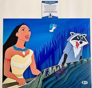 Irene-Bedard-Autographed-Walt-Disney-Pocahontas-11x14-Photo-Signed-Beckett-COA
