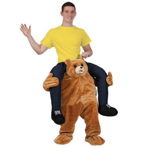 Halloween Dress Carry Teddy Bear Mascot Costume Ride On Me Animals Adults Size