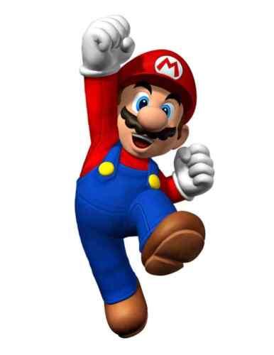 """full color Super Mario Luigi Vinyl Sticker Decal 14/"""""""