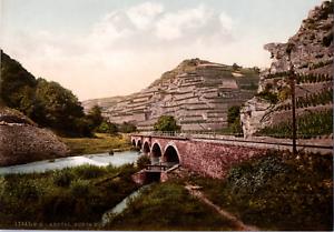 Deutschland-Ahrtal-Bunte-Kuh-vintage-print-photochromie-vintage-photochrom