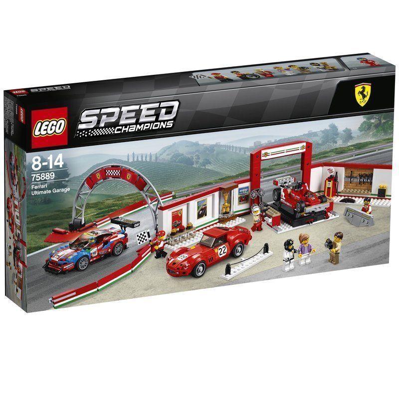 75889 FERRARI ULTIMATE GARAGE city town lego legos NEW sealed Speed Champions