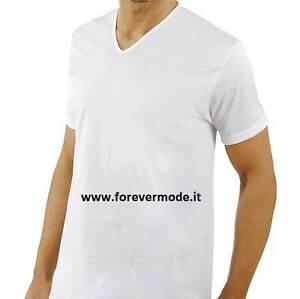 Axiom Fil Courte shirt Manche Largo 3 Homme Avec D' Cou V En T 4P6Wct