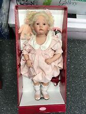 Götz Puppe Hildegard Günzel Vinyl Puppe Holly 63 cm. Top Zustand