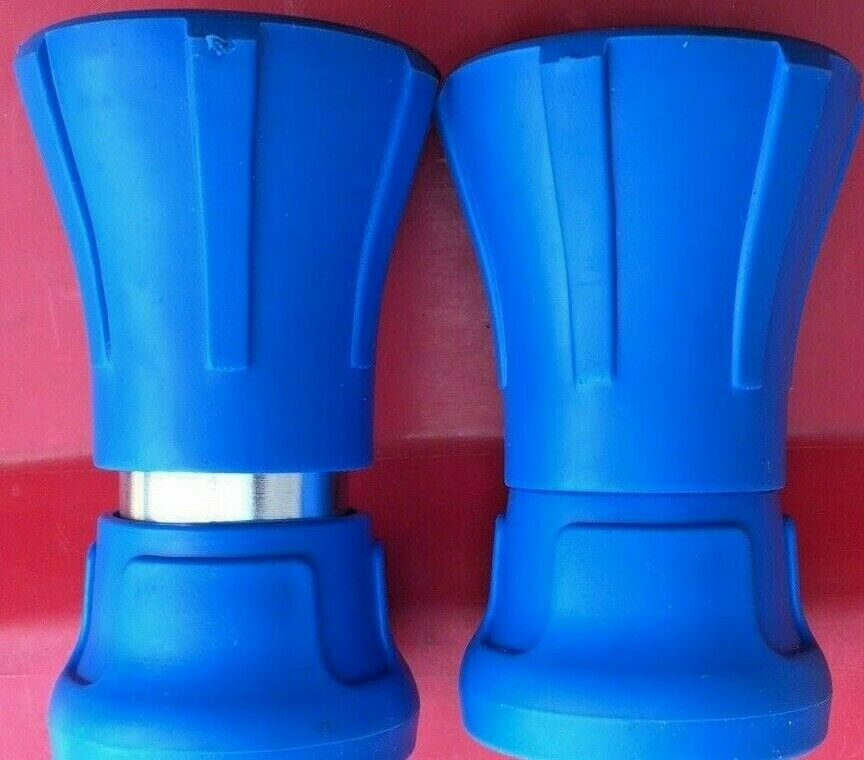 TWO Fire Fighting Nozzles High Pressure Spray 18MM - 3/4