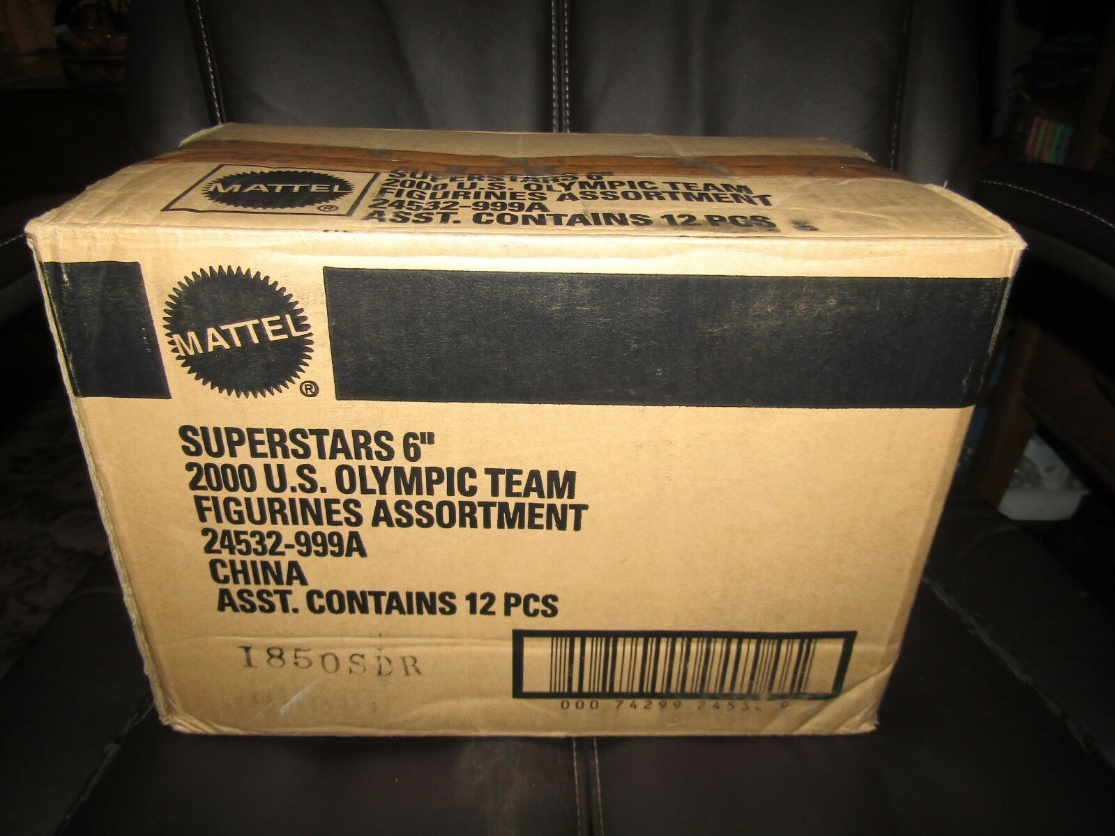 MATTEL NBA 2000 US MENS BASKETBALL oro METAL team figures,moc Factory Case Seal