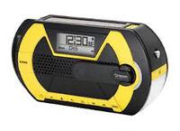 Oregon Scientific WR202 Multi-powered Digital Handheld Emergency Alert Radio