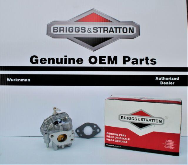 Genuine 845017 Briggs /& Stratton Nikki Carburetor Vanguard Engines