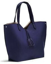 Neiman Marcus Navy Blue Spring Beauty Event Tote Bag Purse Shopper NEW!