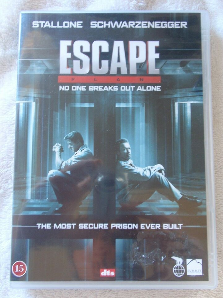Escape Plan, DVD, action