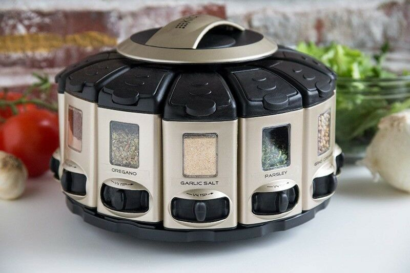 Gifts! Select a Spice Rack AutoMeasure Carousel!
