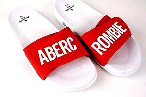 ABERCROMBIE KIDS RED BEACH SANDALS