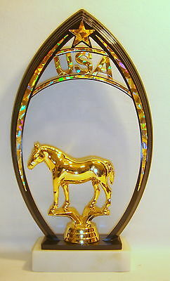 Horse Trophies Factory Direct Selling Price Decorative Collectibles Horse,trophy Show Horses