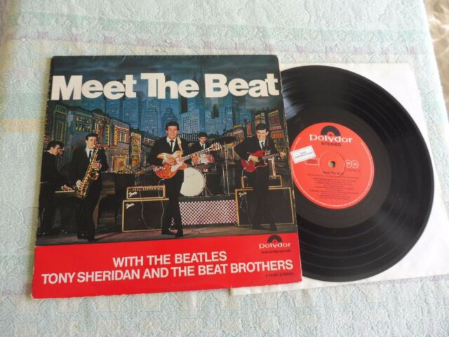 Beatles Tony Sheridan & The Beat Brothers Meet The Beat ORIGINAL ! 10-Inch 1965