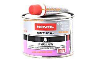 NOVOL-UNI-UNIVERSAL-PUTTY-Body-Filler-Car-van-Hard-Dent-Repair-250g