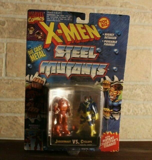 Toy Biz 1994-4 Different MOC! X-MEN STEEL MUTANTS