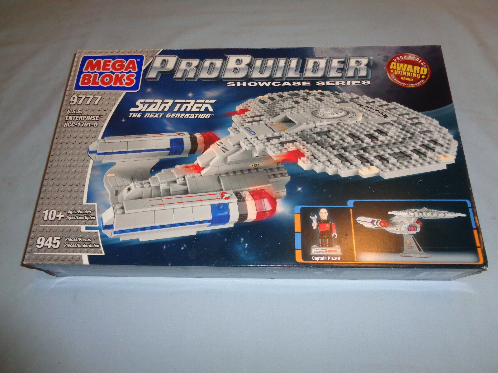 Mega Bloks Probuilder Star Trek The Next Generation Generation Generation The Enterprise NIB e9b294
