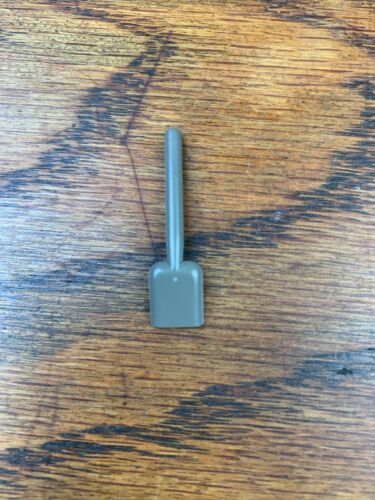 LEGO 3837 Dark Stone Gray SHOVEL Accessories Tool Tools Worker Minifigure