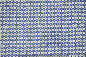 3-Yard-Indian-Hand-Block-Print-Cotton-Fabric-Blue-Running-Loose-Printed-Decor