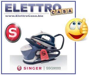 SINGER-Ferro-da-Stiro-a-Vapore-con-Caldaia-Piastra-in-CERAMICA-SSG9000-no-inox