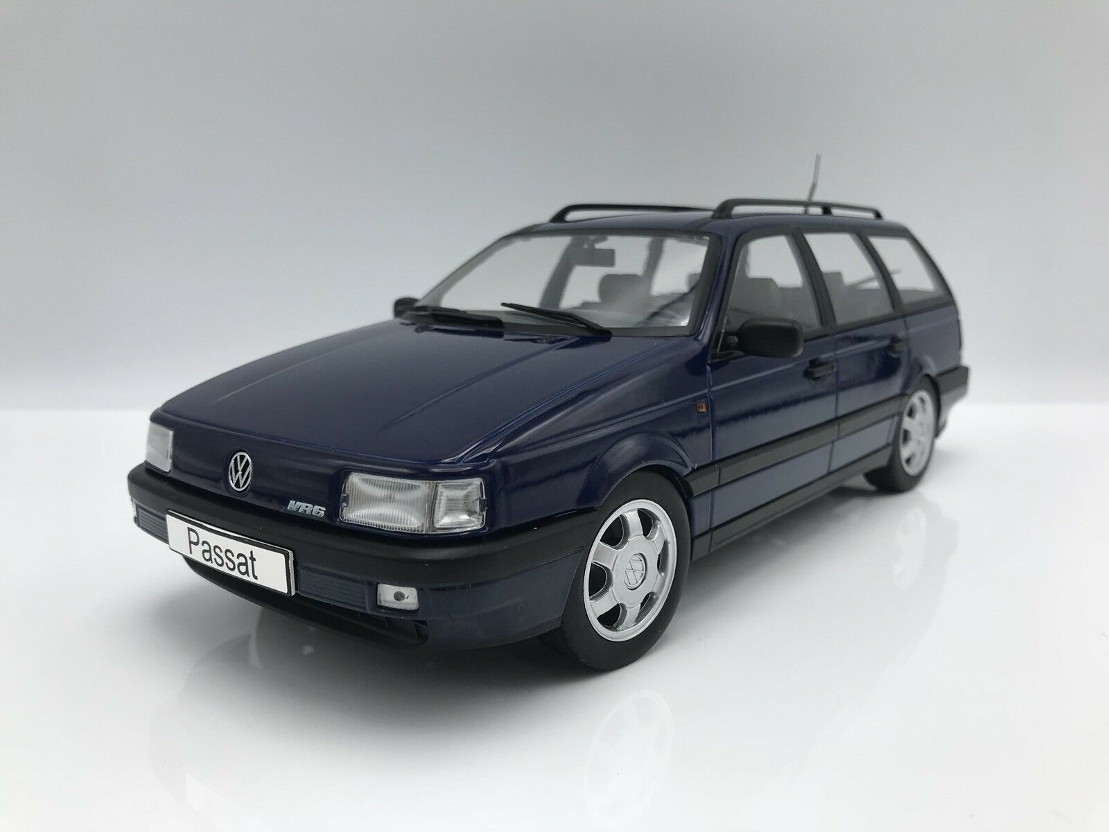 VW VW VW Volkswagen passat b3 vr6 VARIANT 1988-metallic-bleu foncé - 1 18 KK-Scale 304bbf