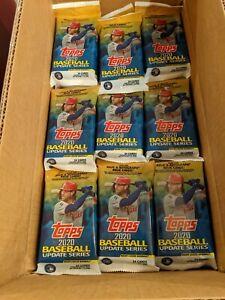 (10) TEN 2020 Topps Update Baseball Value Fat Packs - Fresh Case/Box +Free Ship!