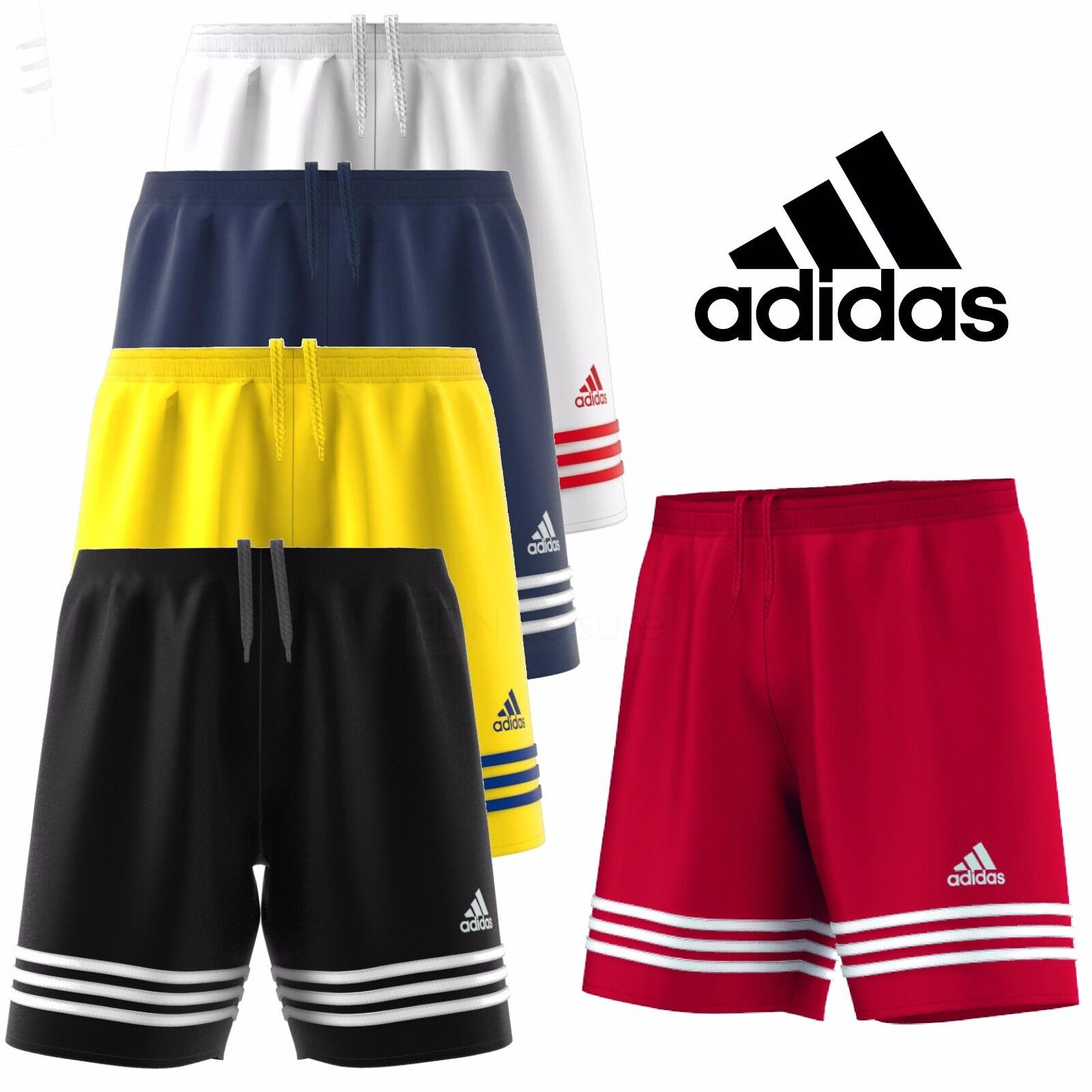 adidas mens shorts sports training entrada football. Black Bedroom Furniture Sets. Home Design Ideas