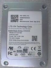 "Lite-On Technology 128GB CV1-CC128 6Gbps 7mm internal SATA 2.5"" SSD Drive"