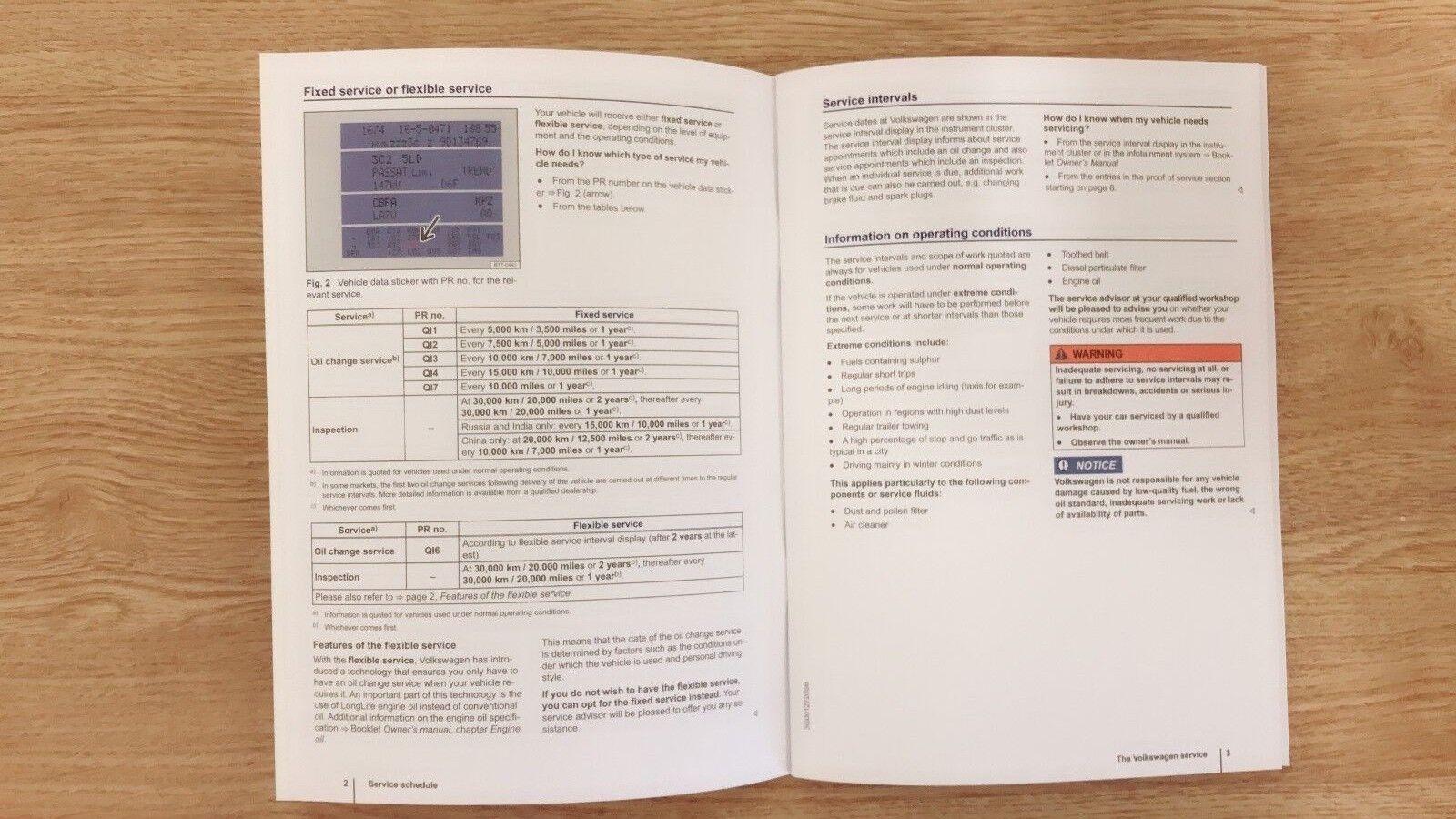 VW VOLKSWAGEN POLO BLANK SERVICE SCHEDULE HISTORY LOG BOOK 1.6 2.0 TDI GTI R