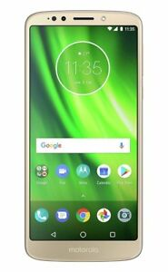 Sim Free Motorola Moto G6 5.7 Inch 32GB 13MP 1080P 4G Play Mobile Phone - Gold