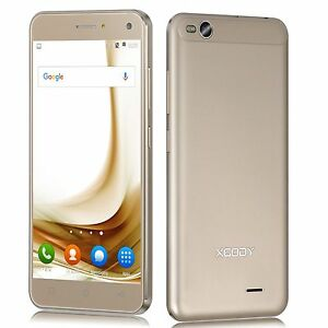 Android 5.1 Quad Core 8GB Cell Phone 3G Unlocked Smartphone XGODY X13